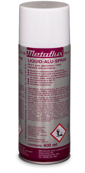 70-16 Aluminum spray Metaflux