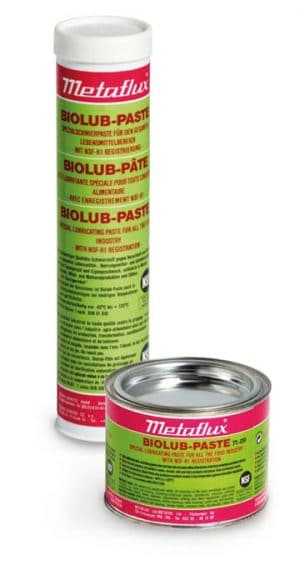 71-09 Biolub paste Metaflux lubricant NSF approved food industry 71-09 Biolub Paste Metaflux pâte lubrifiante NSF agro-alimentaire||