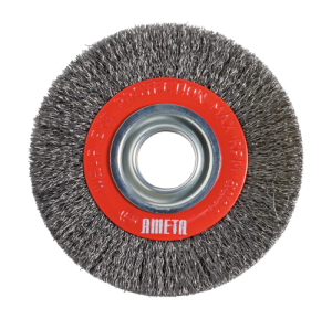 72 CW-BG WHEEL BRUSHES WITH CRIMPED WIRE