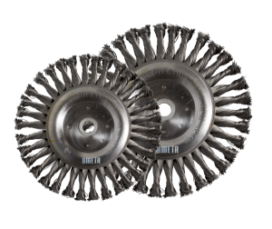 72 B KNOTTED WIRE WHEEL BRUSHES