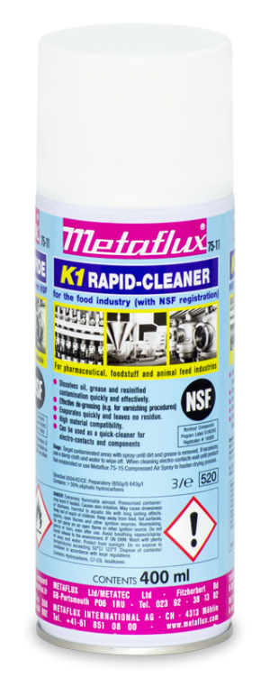 75-11 NSF rapid cleaner