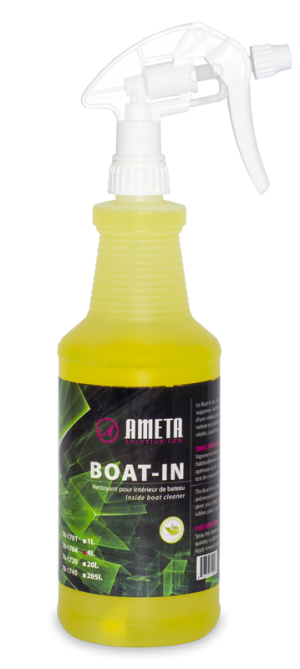 Inside Boat Cleaner Biodegradable