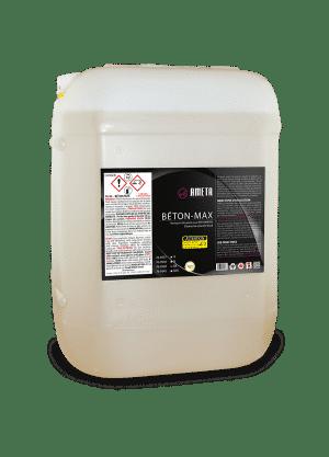 76-93 Béton-max Nettoyant acide bétonnières avec anti-corrosion|