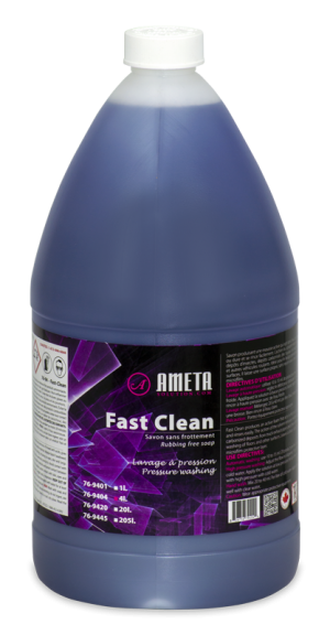 Fast Clean rubbing-free degreaser