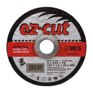 EZ-CUT 5'' cut-off discs