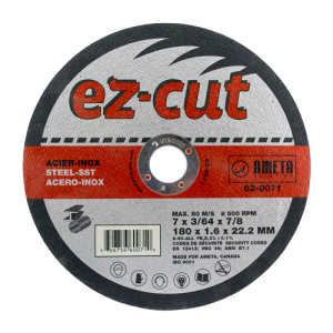 EZ-CUT 7'' cut-off discs