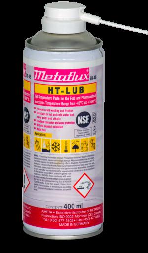 Lubrifiant NSF 70-48 Metaflux HT-lub