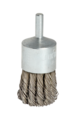 KNOTTED WIRE STEEL BRUSHES