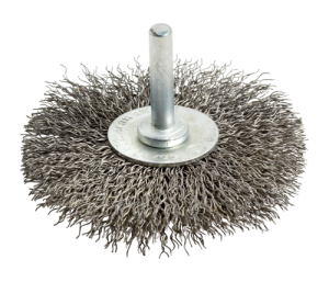CRIMPED WIRE STEEL WHEEL BRUSHES
