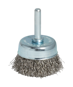 CRIMPED WIRE STEEL CUP BRUSHES