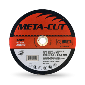 EZ-CUT 9'' cut-off discs