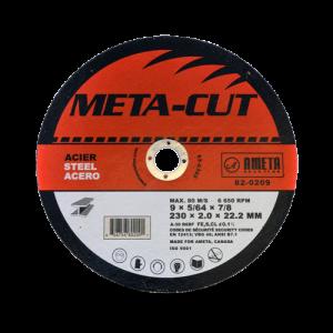 EZ-CUT 9'' cut-off discs